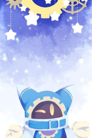 Book Mark - Magolor-Kirby Series