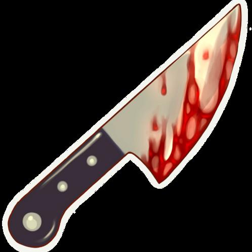 Knife Sticker
