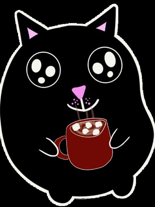 Hot Chocolate Cat
