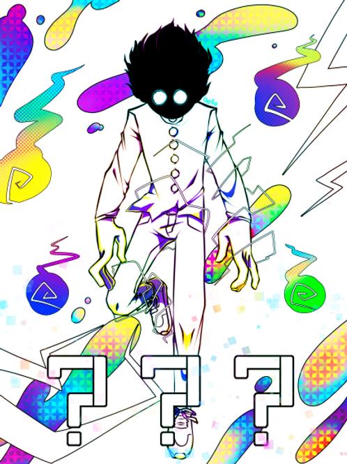 Fan Art DIGITAL DOWNLOAD - Mob Psycho