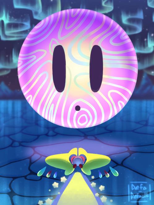Fan Art DIGITAL DOWNLOAD - Kirby Star Allies