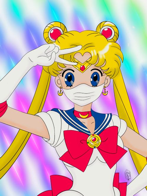 Sailor Moon Mask Up