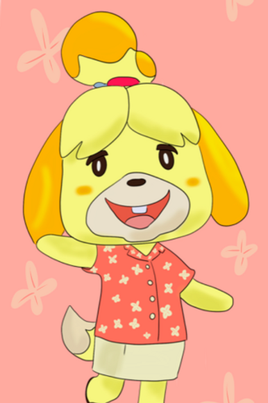 Bookmark - Isabell-Animal Crossing