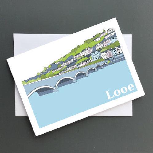 Looe bridge A5 Card