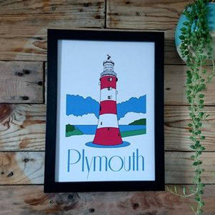 Smeaton's tower A4 or A3 print