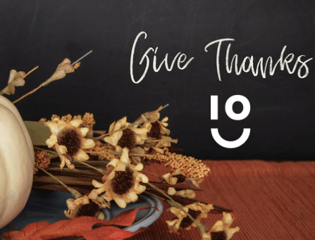 In October, We Give Thanks
