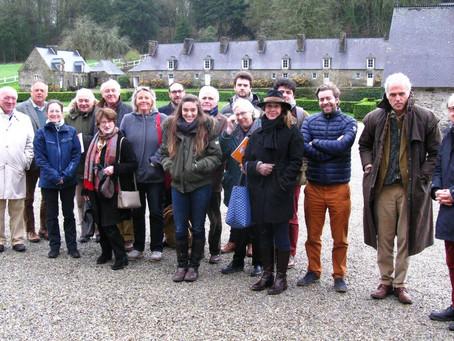 Les Aèdes à la rencontre des propriétaires bretons de monuments historiques !