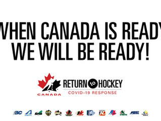 Hockey Canada Return to Play: Special Message