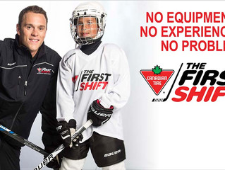 Canadian Tire First Shift Program to be held in the Greater Sudbury Region, Chapleau, Manitoulin Isl