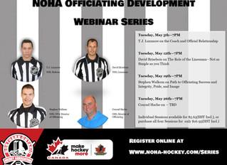 NOHA Officiating Development Web Series
