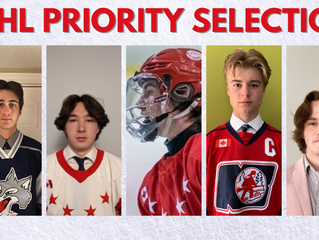 Five Northern Players Selected in the 2021 OHL Priority Selection