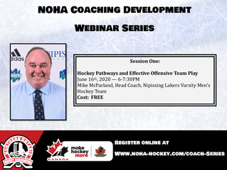 Coach Development Webinar Series - Session One - Mike McParland