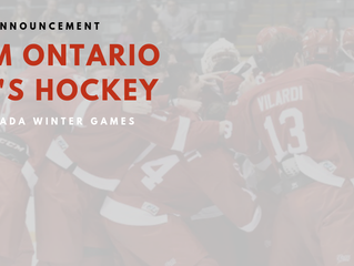 Team Ontario Roster Announcement