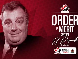 Hockey Canada Order of Merit - Ed Pupich Interview