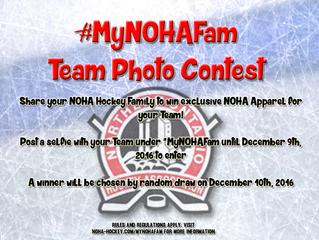 #MyNOHAFam Team Photo Contest