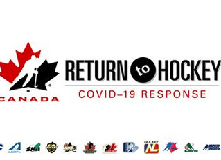 Hockey Canada and OHF Statements on Return to Hockey