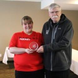 Carla Vine - Tom Pashby Award
