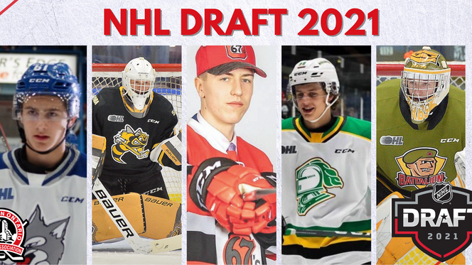 Five NOHA Players Selected in the 2021 NHL Draft!