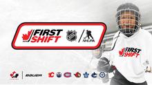 Register for the NHL/NHLPA First Shift Program