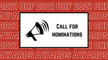 Call for Nominations for OHF Awards