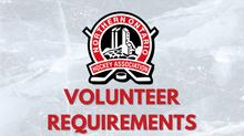 Volunteer Requirements 2021-2022