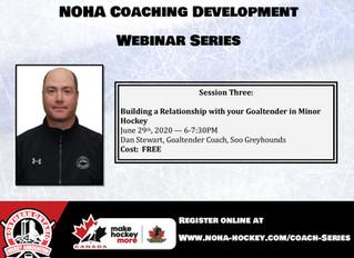 NOHA Coaching Development Webinar Series - Dan Stewart