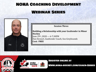 NOHA Coaching Development Webinar Series - Dan Stewart