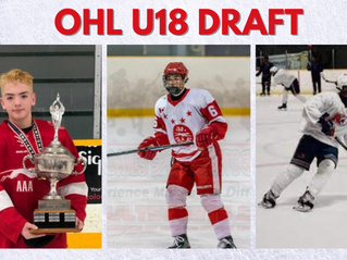 Three NOHA Players Selected in OHL U18 Draft