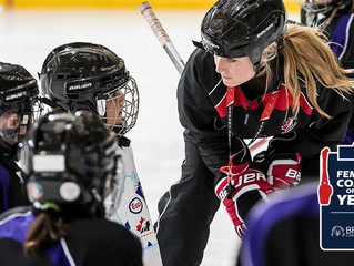 BFL Female Coach of the Year Nominations Close March 30th, 2021