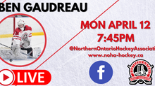 NOHA Facebook LIVE with Ben Gaudreau!