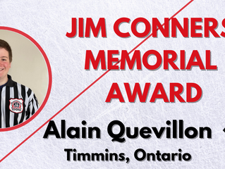 Jim Conners Memorial Award – Alain Quevillon, Timmins