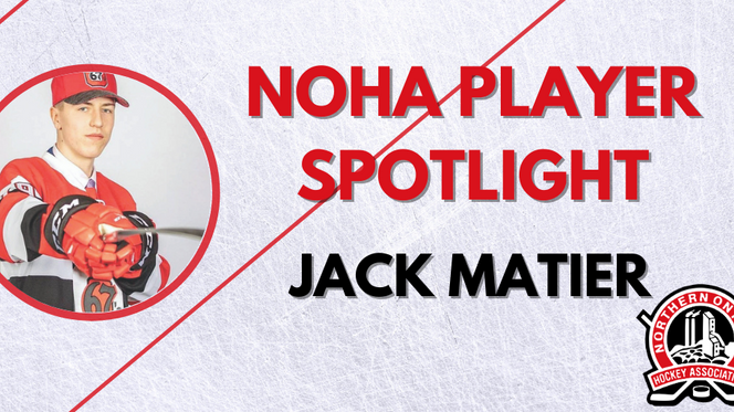 NOHA Player Spotlight - Jack Matier
