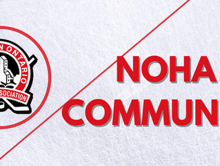 Thank You from the NOHA