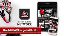 Get 50% Off the Hockey Canada Network App