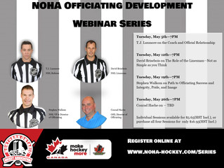 NOHA Officiating Development Web Series