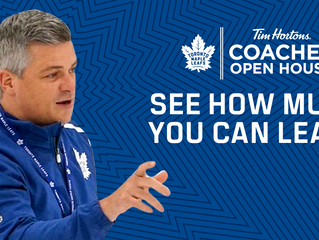 Tim Hortons Toronto Maple Leafs Coaches Open House