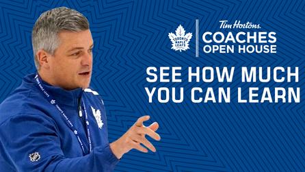 Tim Hortons Toronto Maple Leafs Coaches Open House