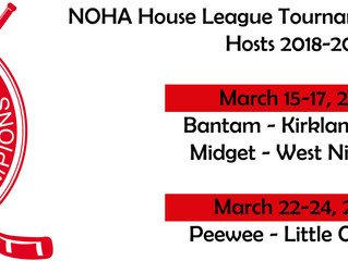 NOHA House League Tournament of Champions Hosts
