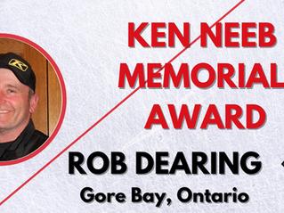 Ken Neeb Memorial Award - Rob Dearing, Gore Bay, Ontario