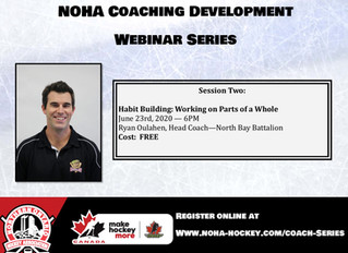 NOHA Coaching Development Webinar Series - Ryan Oulahen