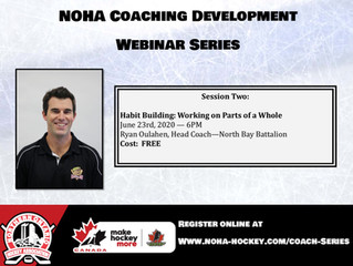 NOHA Coaching Development Webinar Series - Ryan Oulahen