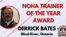NOHA Trainer of the Year Award - Derrick Bates, Blind River