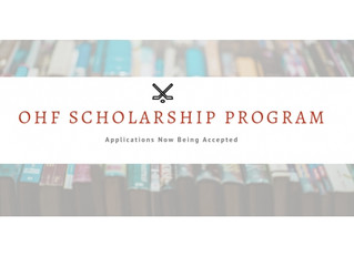 Applications Now Being Accepted for OHF Scholarship