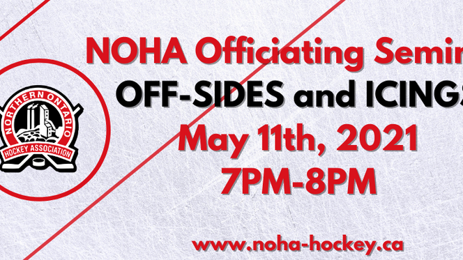 NOHA Officiating Seminar - Offsides and Icings