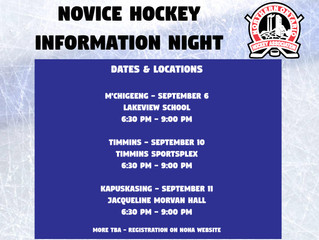 Novice Hockey Information Night