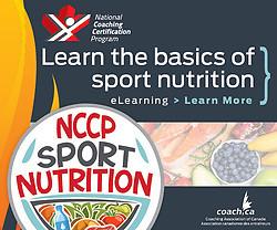 NCCP Sport Nutrition Course