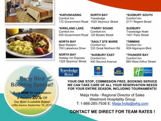 NOHA Westmount Hotel Discount Partnership