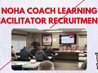 2021 NOHA Coach Learning Facilitator Recruitment