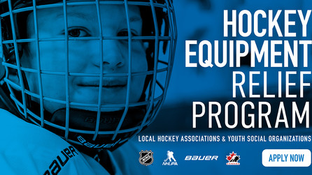 Hockey Leaders Join Forces to Help Kids Get Back on the Ice