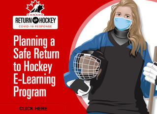 Hockey Canada Planning a Safe Return to Hockey Online Course